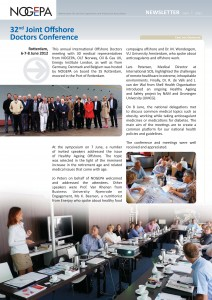 Enerjoy - speaker at int. offshore doctors meeting