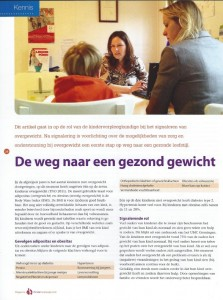 Artikel Plan-Fit in Magazine Kinderverpleegkunde nr 4 dec 2012-1