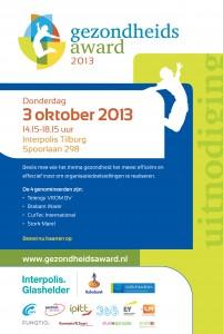 Gezondheidsaward 2013 - Uitnodiging