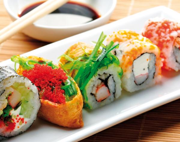 Gezonde traktaties op het werk: Sushi - Enerjoy