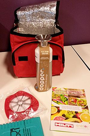 Gooddy bag als motivatie om werknemers onderweg gezond te laten eten