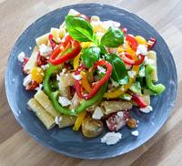Griekse pastasalade - De Vegabox