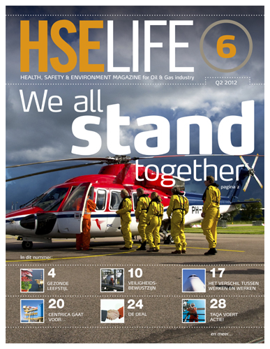 Gezond leven offshore in HSE Life magazine