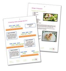 Werkmap afbeeldingen gezond eten in de nacht - Enerjoy