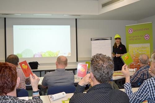 Gezond eten en veilig werken workshop bij USG - Enerjoy
