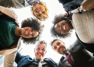 Afvallen via het werk voor groepen