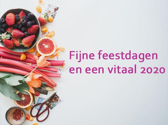 Vitaal het nieuwe jaar in!